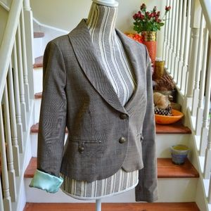 NWT Guess Jeans Vintage Tweed Blazer Size XL